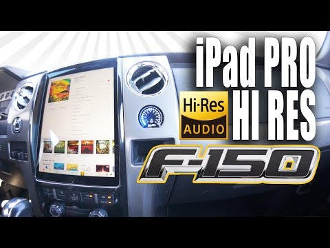 I FINISHED THE F150 SYSTEM! (not an April fools joke) iPad PRO, HI RES AUDIO - AMPLIFIED #725