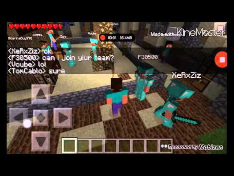 Let's Play w/ Tom Cablo Minecraft PE 0.8.1 (Multiplayer Server) - Epic MC (Episode 2)
