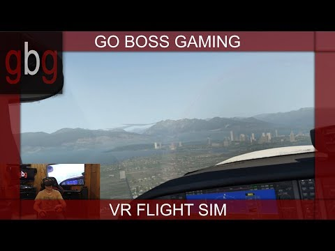 X-Plane 11 VR:  A Virtual Tour Of Vancouver British Columbia, In X-Plane 11.