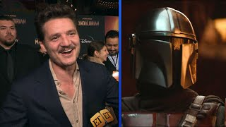 The Mandalorian: Pedro Pascal Reacts to Internet's Crush on His Faceless Character