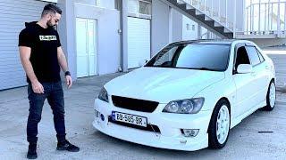 უხეში ტესტ დრაივი - Toyota Altezza - ჯინოს მეფე!