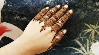 Henna Design For Fingers Videos 9videos Tv