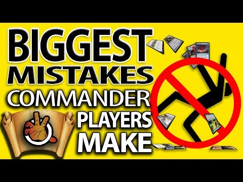 Top 10 Biggest Mistakes Commander Players Make | The Command Zone #196 | Magic: the Gathering EDH