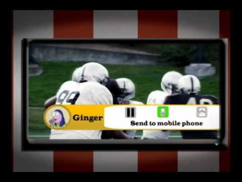 Your Phone. On TV.