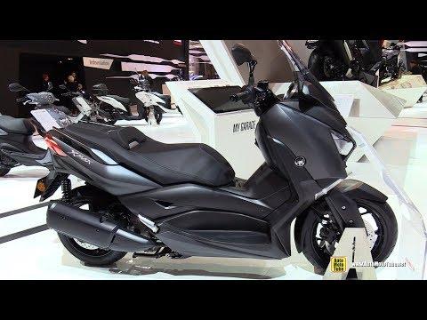 2018 Yamaha X-Max 300 Scooter - Walkaround - 2017 EICMA Motorcycle Exhibition