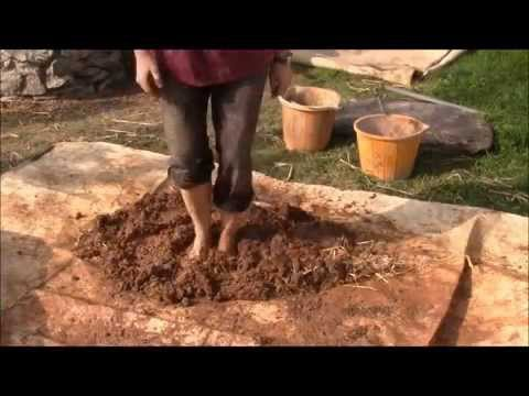 How to make a cob oven or clay oven Part one