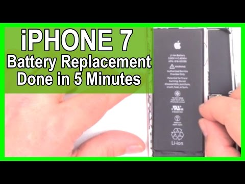 iPhone 7 Battery Repair & Replacement done in 5 minutes
