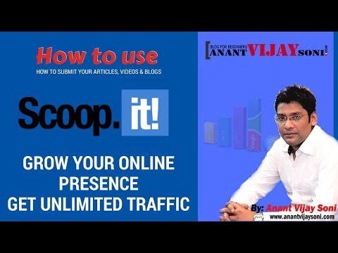 What is Scoop.it & Why Use? -  Best Social Media Bookmarking Site