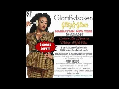 Upcoming Glitz & Glam Makeup Classes