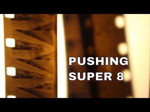 Super 8 home processing: Pushing Fomapan 100