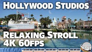 Disney's Hollywood Studios - Relaxing Stroll - 4K 60fps - 2-9-19 | Walt Disney World
