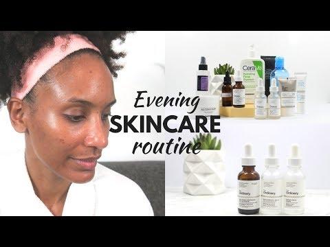 My Evening Skincare Routine (acne, oily skin)