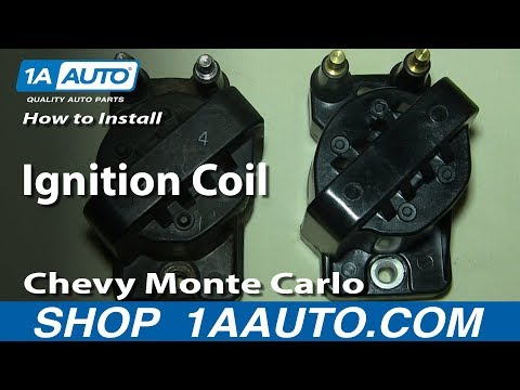 How To Install Replace Ignition Coil 3.4L Chevy Monte Carlo