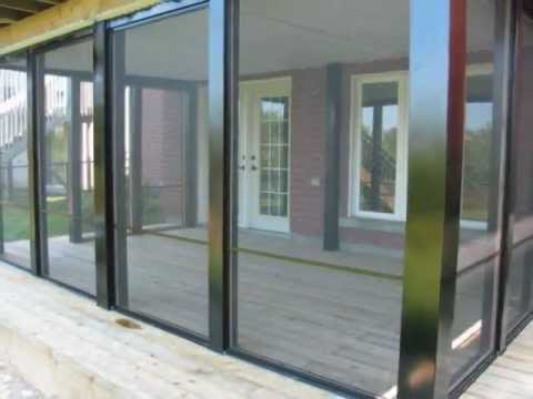 Screen Enclosure installations by Varga Windows Inc in Toronto Ontario Canada