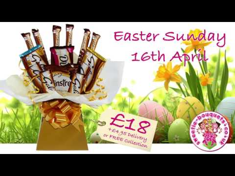 Sweetie-Bouquets Easter Chocolate Bouquets & Baskets