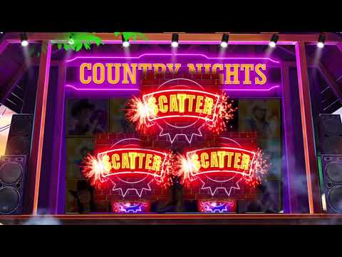 Cash-out Country Nights slot for free and play to win big win, major jackpot and huge prize!