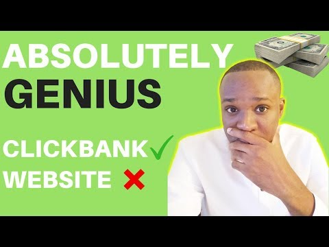 How to do Clickbank Affiliate Marketing WITHOUT a Website (Genius)