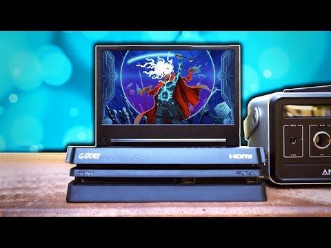 Ultimate Portable PS4 Slim Setup?