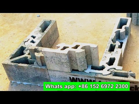 how to build habiterra block ( interlocking brick) house, build house with construction technology
