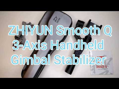 Zhiyun Smooth-Q 3-Axis Handheld Gimbal Stabilizer for Smartphone/Action Cam
