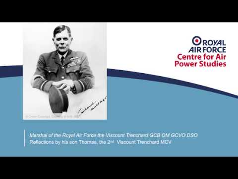 Sir Hugh Montague Trenchard interview RAF100 special