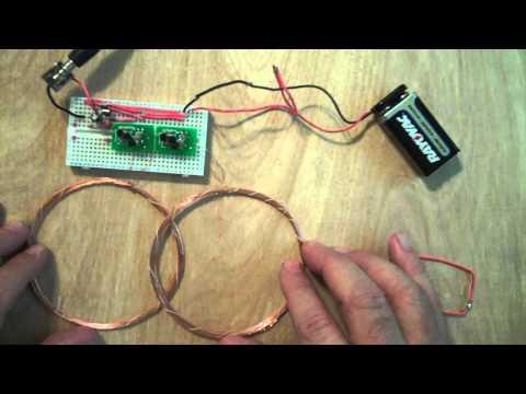 Simple BFO Metal Detector - Improved Circuit Design