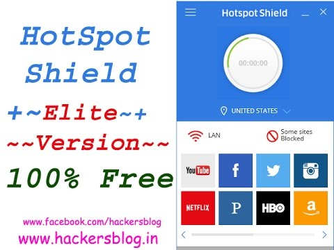 How to get Hotspot shield Elite version  Download  for 100%  free Solution 2016