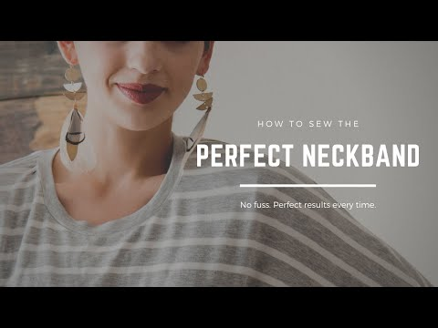 How to Sew The Perfect Neckband   DoItBetterYourself.club