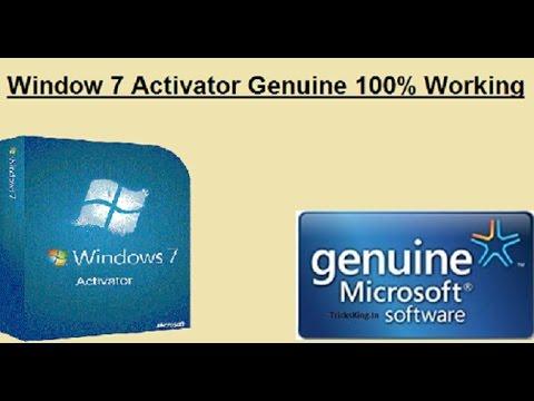 Windows 7 Loader Genuine Activator Crack Free Download 100 % working hindi/urdu
