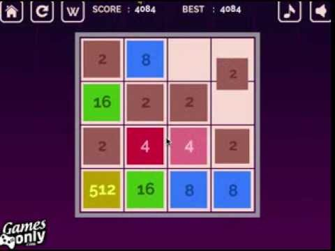 How to win the 2048 Number Game, Tips And Tricks