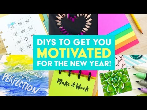Top 5 DIYs to Get You Motivated for the New Year! | Sea Lemon