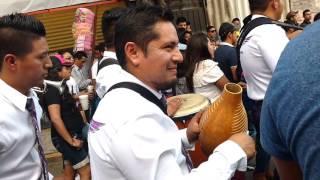 Ritmo de chunga banda reyna de huajuapan comparsa cardenales carnaval San Lorenzo tezonco 2016