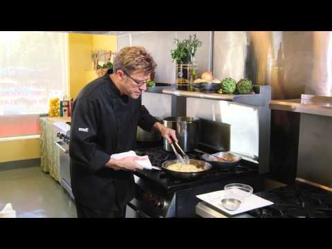 How to Make Fettuccini Alfredo with Sautéed Shrimp with Chef Eric Crowley