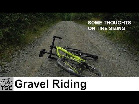 Gravel Grinding: Tire Sizes