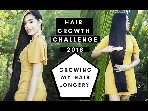 Hair Growth Challenge 2018-Phase 1- My Hair Goals & Giveaway Winner