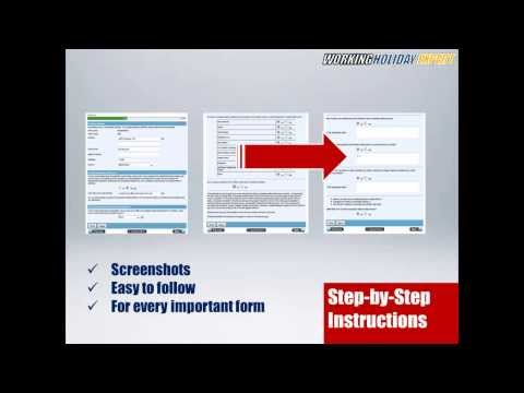 Easy! Working Holiday Australia - expert shows how (visa application, jobs, TFN)