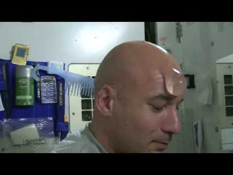 How to Wash Your Bald Head in Space | Luca Parmitano | ISS Astronaut HD Video