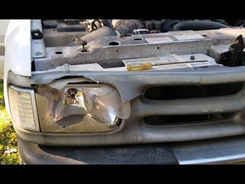 FAST - How to Remove Mazda Truck Headlight and Grille B2300