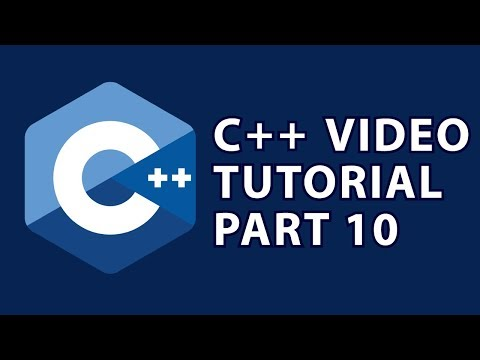 C++ Tutorial 10 : Object Oriented Programming