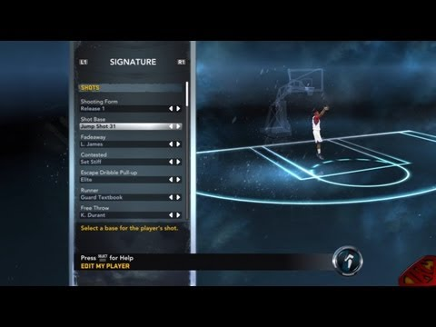 NBA 2K12 My Player Mode - How To Create NBA Players Jumpshot So Why Purchase Them Feat. Athletic PG