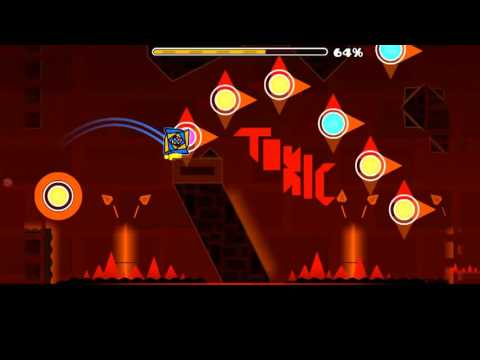 Geometry Dash (Demon) - Crimson Flare by ToxicGD & others