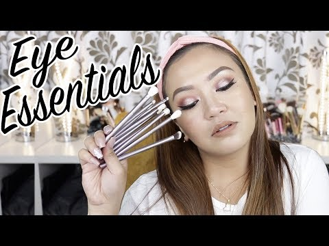 PAANO MAG-EYESHADOW LIKE A PRO | ANNE CLUTZ BRUSHES EYE ESSENTIALS