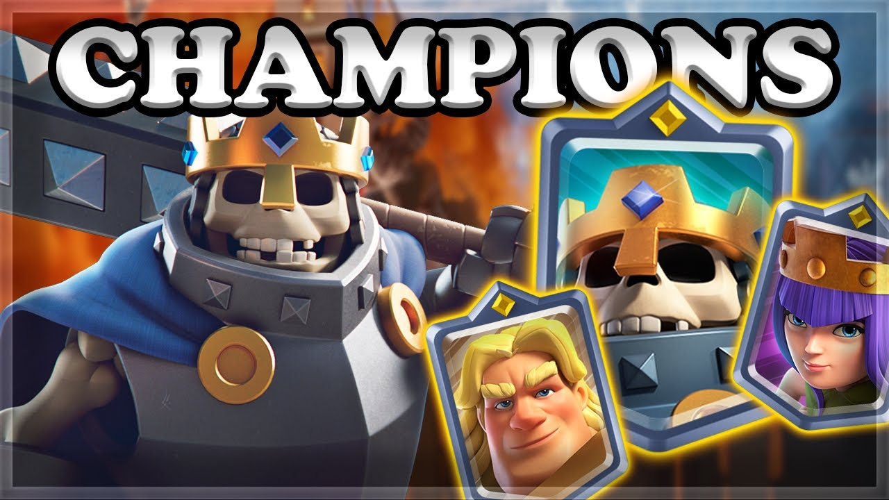 Clash Royale Champions Gameplay 🍊
