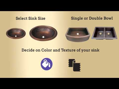 Design Your Own Custom Copper Sink