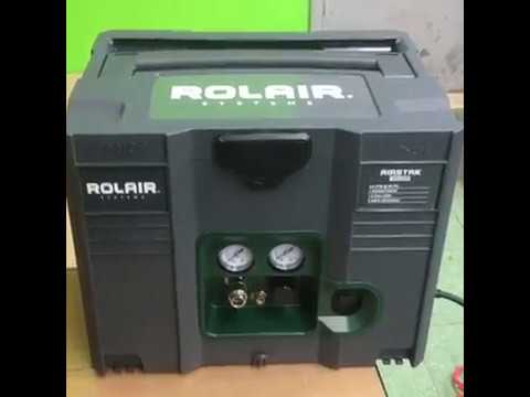 Rolair AIRSTAK 1HP Air Compressor in a Systainer