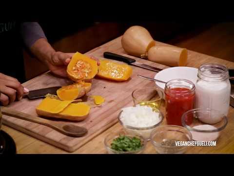 Chef Gueli Vegan Butternut Squash Soup