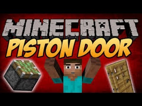 Minecraft Xbox 360 Edition: Sliding Piston Door Tutorial