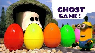Explore Colors with Minions Candy Surprise Eggs Joker Ghost Thomas and Friends Colours TT4U