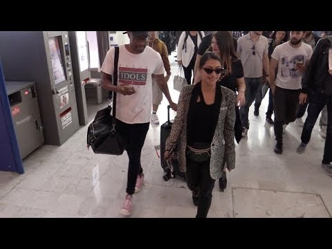 EXCLUSIVE : Vanessa White arriving at Nice airport for Cannes Film Festival