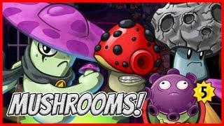Download Night Cap The Real Badass Team Mushroom - Plants vs Zombies Heroes Gameplay Video
